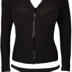 Black long sleeve womens rashguards